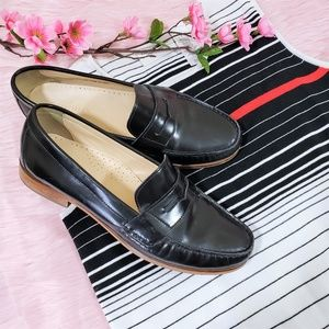 Cole Haan Black Patent Leather Loafers